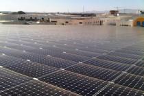 Instalación fotovoltaica Cubierta Solar Alhama de Murcia