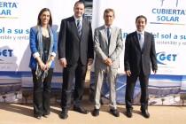 Visita de Obra Cubierta Solar Onda - Recepción invitados de honor