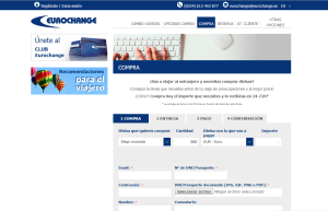 Compra online tus divisas en Eurochange