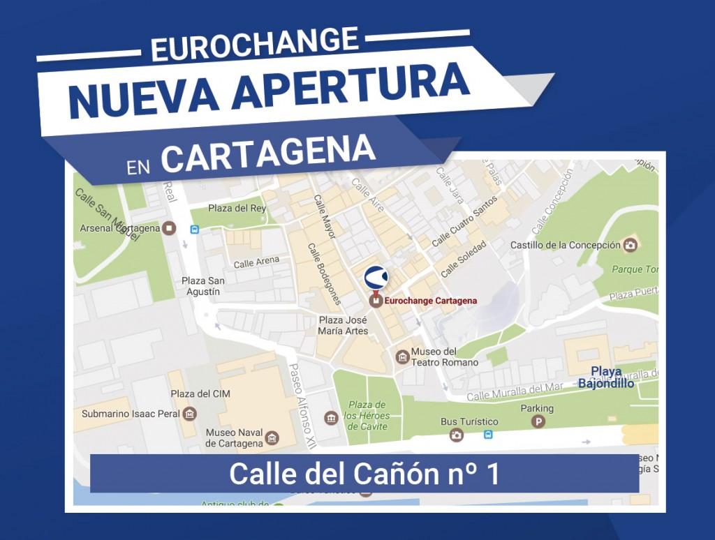 Apertura Eurochange Cartagena