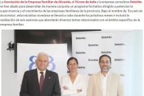 AEFA, Forum y Deloitte firman un programa formativo