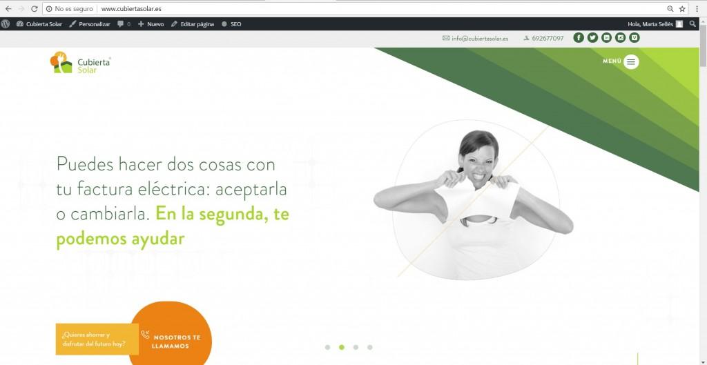 web cubiertasolar.es